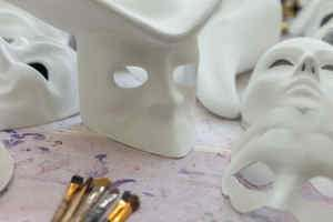 Blank Masks for Decorating