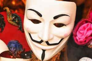 Guy Fawkes and V for Vendetta Masks