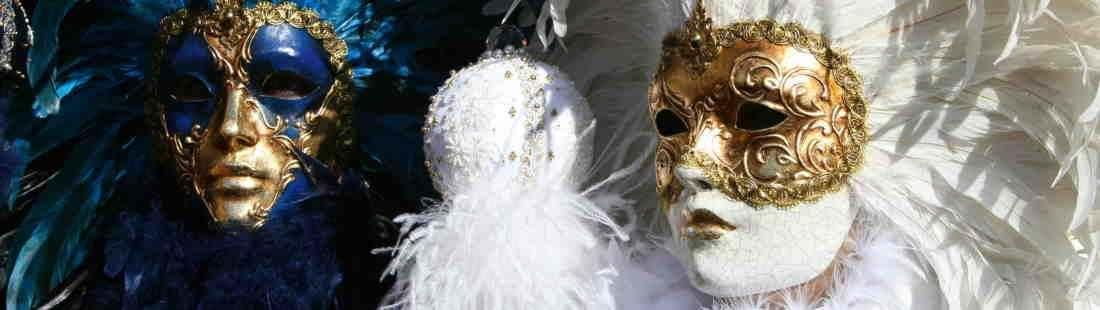 Feathered Masks for Couples