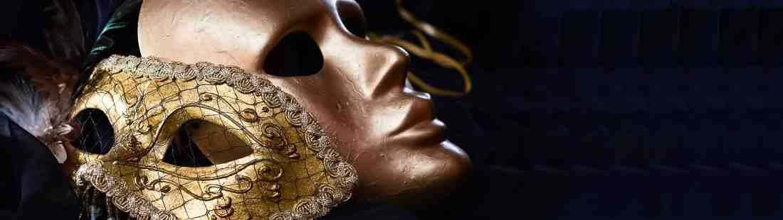 Gold Masks for Couples