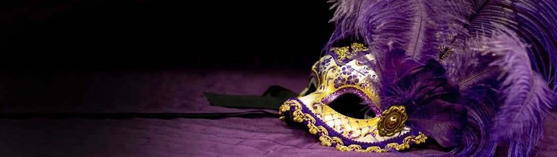 Womens Feather Masks