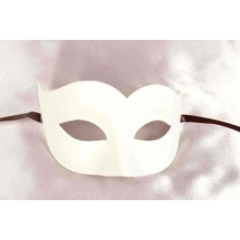 Blank white undecorated Semplice Sweetheart mask