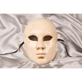 Plain cream Full face mask - Volto Bone