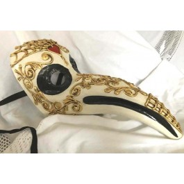 Day of the Dead Doctor Nose Mask