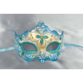 turquoise ball mask - Giglio