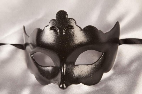 black budget ball Masquerade mask - Giglio
