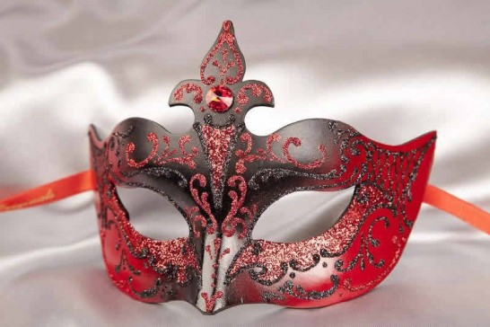 Red Giglio Masquerade Masks for Women