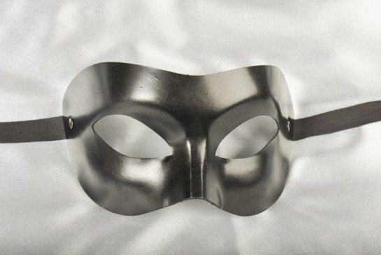 masquerade ball mask leather Colombina