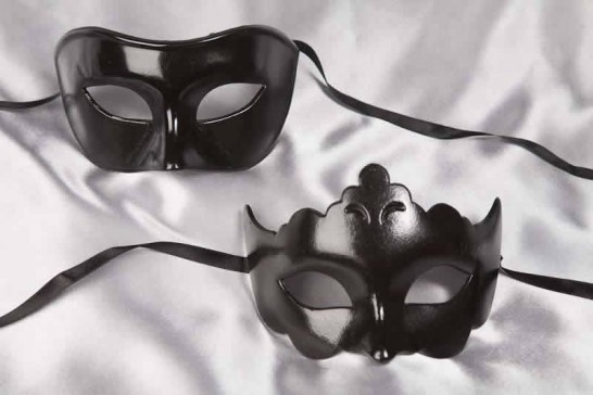 Pair of budget ball mask - Black
