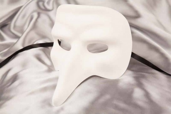 Blank Masks to Decorate - Captain Nose Mask