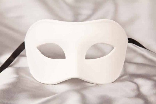 Blank Masks to Decorate - Colombina