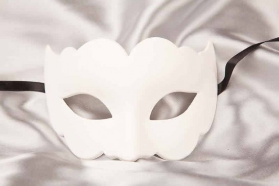 Blank Masks to Decorate - Iris