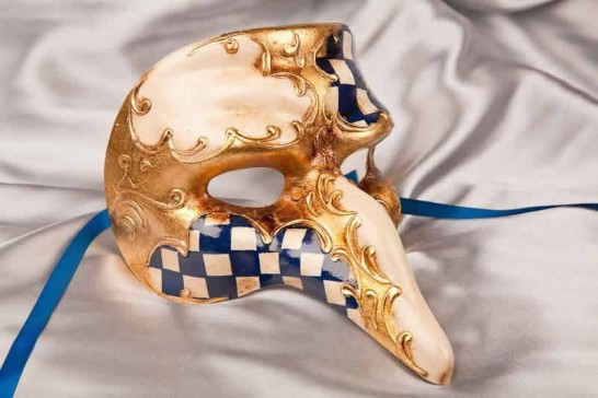 blue snub nose mask - Capitano