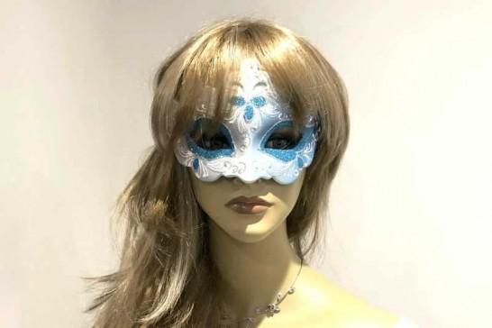Ladies Ball Mask - Giglio shown on female face