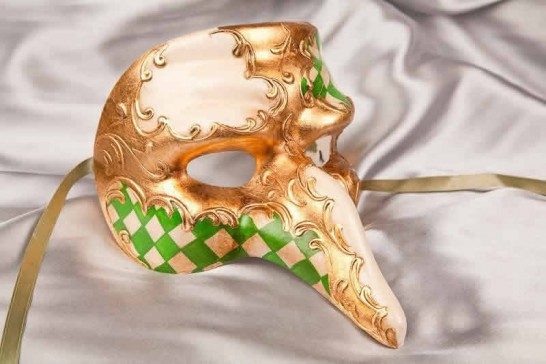 Green snub nose mask - Capitano