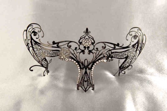 Masks to be attached to glasses Libellula Strass