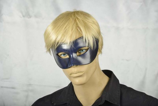 Colombina masquerade ball mask on mans face