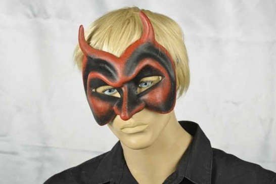 Diavolo mask on male model face