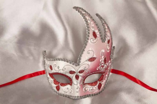 red swan carnival mask