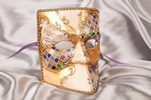 Bauta Mosaic - Multi Colour Bauta Masks for Men