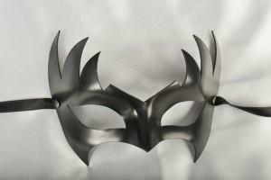 Phoenix leather mask