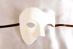Fantasma Grezzo - Blank White Phantom Masks to Decorate