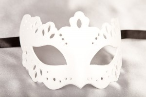 Burano Grezzo - Blank White Venetian Masks to Decorate