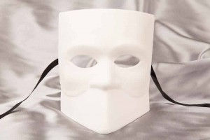 Blank Masks to Decorate - Bauta