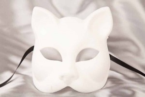 Blank Masks to Decorate - Cat Mask