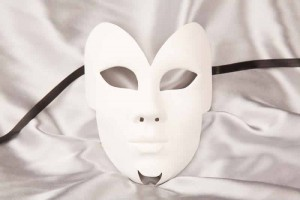 Mask to decorate - Farfalla