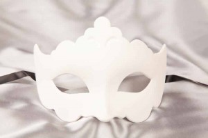 Blank Mask to decorate - Giglio
