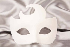 Blank Masks to Decorate - Mezza