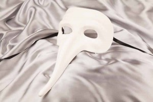 Blank Masks to Decorate - long nose mask