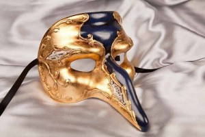 Captain Gold - Il Capitano Snub Nose Beak Mask