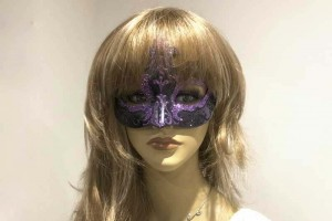 Farfallina Black - Giglio Masks for Women