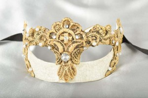 gold masquerade masks for women