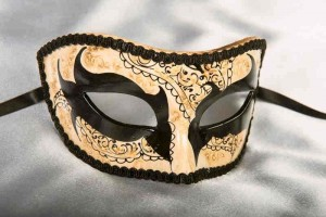 Halloween Mask - Notte Oscura Colombina