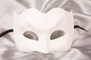 Blank masquerade Masks to Decorate - Joker