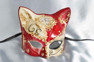 Gattino Love Me - Kitten Mask with Heart Decoration