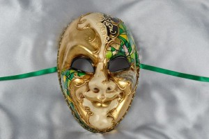 Green Joker Venezia Mask