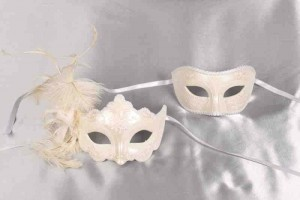 Daniela Fiore Plain - Stunning Pair of Couples Masks