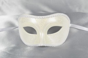 Larga Fiore - Unisex Gloss Decorated Eye Mask