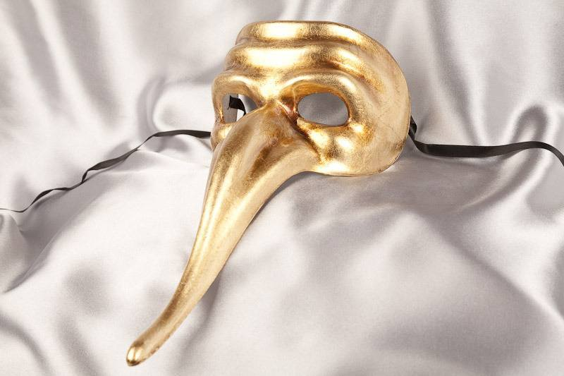 Scaramouche Long Nose Mask