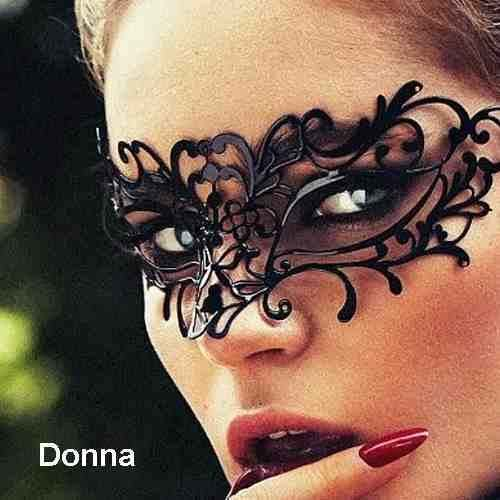 Donna Mask on woman