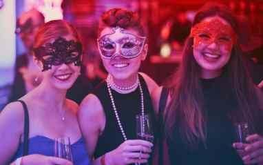 Don't want to wear a masquerade mask
