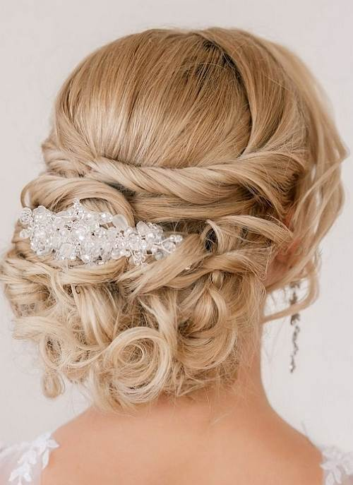 Chignon Hairstyle for masquerade ball